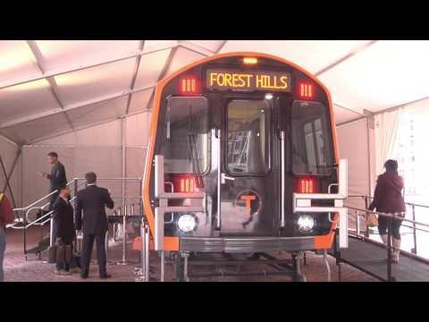 New MBTA Orange Line Cars Walkthrough