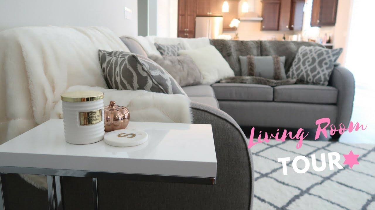 the living room tour living room tour slmissglamvlogs 16116