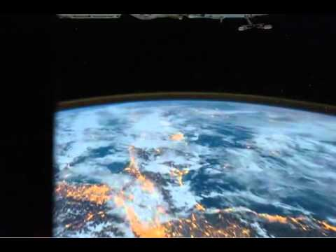 NASA.City Lights- France to Croatia (2011.12.11)