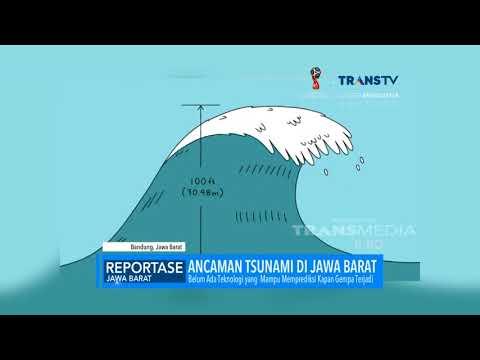 Ancaman Tsunami di Jawa Barat