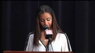 ELN: SGA Election Speech - Morgan Bodenarain, Sophomore Class Vice President