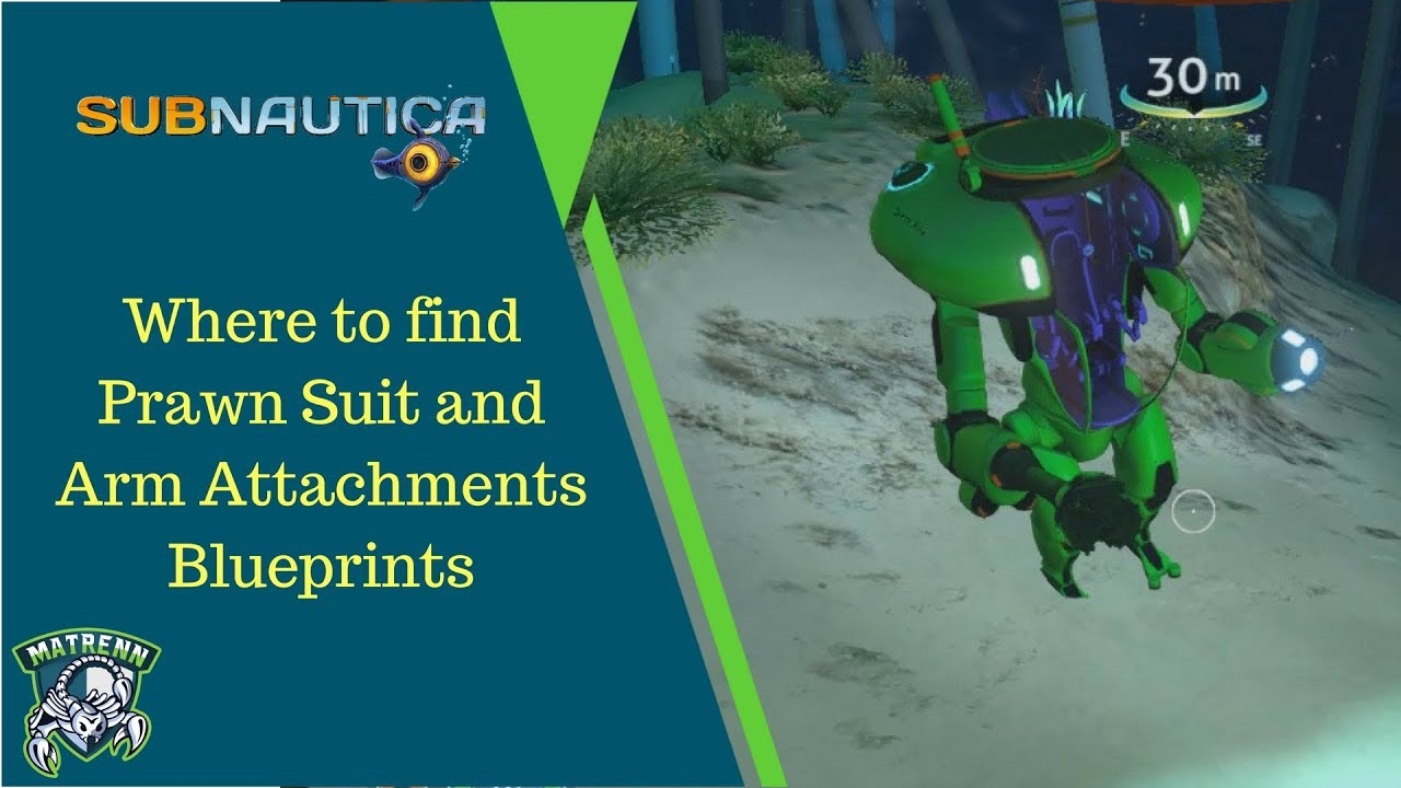 Subnautica Prawn Suit And Prawn Suit Arm Attachment Blueprints Youtube Last week we dove into the seamoth and all the upgrades for it, so today we are giving the same focus to the prawn suit. subnautica prawn suit and prawn suit arm attachment blueprints