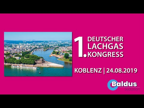SAVE-THE-DATE: 24.08.2019 - Koblenz - 1. Deutscher Lachgaskongress