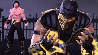 Mortal Kombat Vs DC Universe:Mk Story Mode - Playthrough Part 1