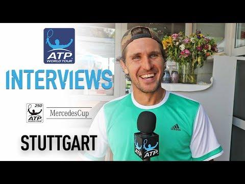 Mischa Zverev On Grass Court Tennis At Stuttgart 2017