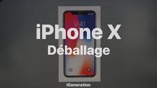 Déballage de l'iPhoneX