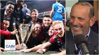 Don Garber explains Atlanta United's success and MLS competition with Liga MX   Will Cain Show
