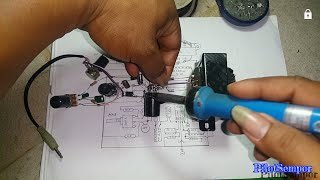 Tutorial cara buat amplifier 2003 + toon kontrol