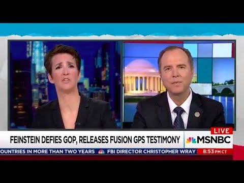 Rep. Schiff on MSNBC: Feinstein Made Right Decision to Release Fusion GPS Transcript
