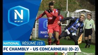 J19 : FC Chambly Oise - US Concarneau (0-2), le résumé I FFF 2018