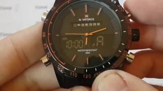 Мужские часы Naviforce Army. ОБЗОР