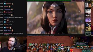 Asmongold Watches Awaken (ft. Valerie Broussard)   League of Legends Cinematic - Season 2019