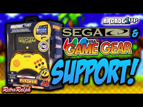 Arcade1Up Game Console - UPDATE - Play SegaCD & GameGear Games! from Retro Ralph