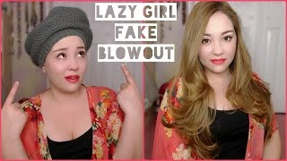 How To: EASY No Heat Fake Blowout Part 2