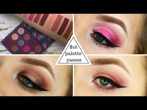 3 LOOKS ONE PALETTE | Colourpop Element of Surprise