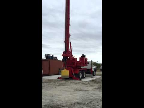Foundation Drilling Rig Video