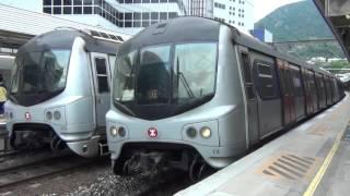 【HD】MTR東鉄線 メトロキャメル電車E8 紅磡行 九龍塘発車