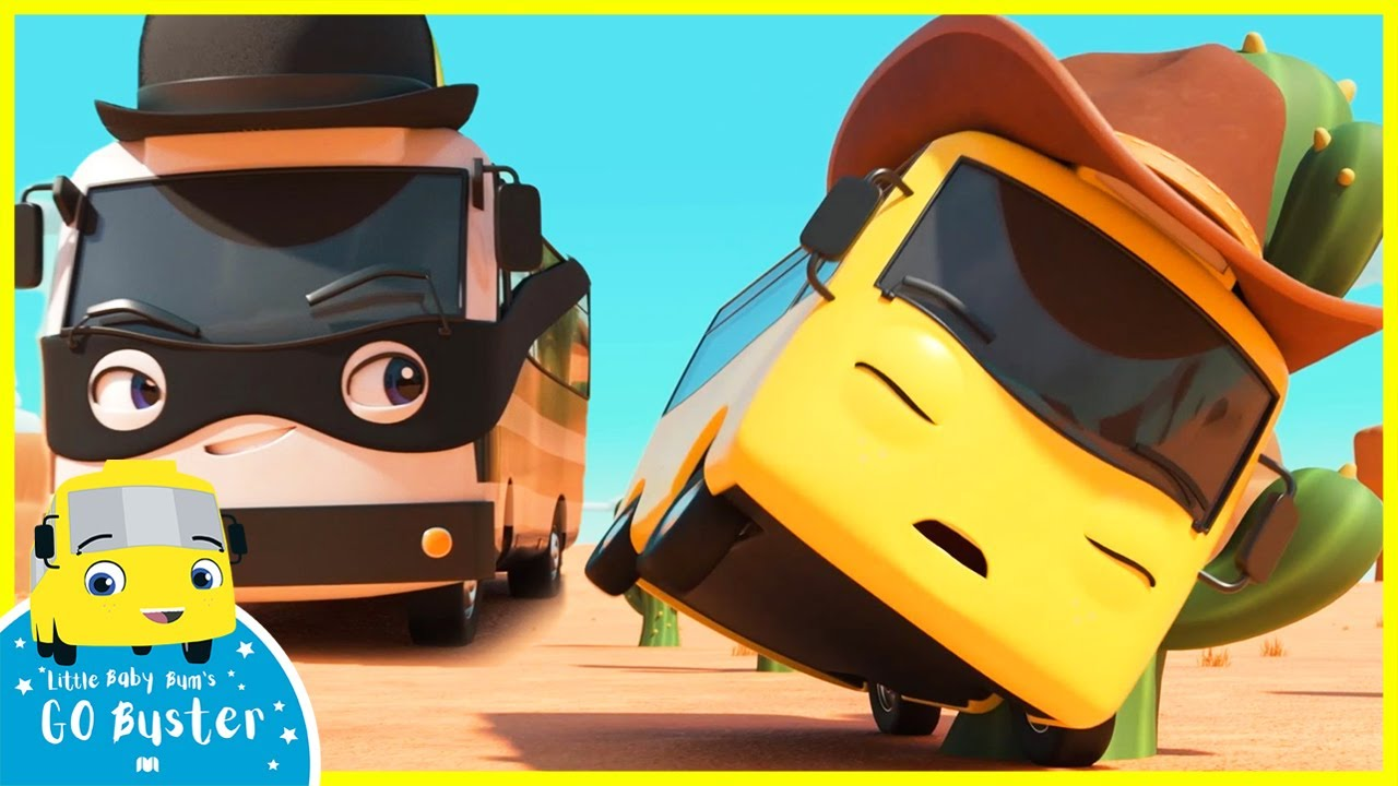 Bandit Bus Is Up To No Good! Top Moments! | Go Buster | Baby Cartoons | Kids Videos | ABCs and 123s