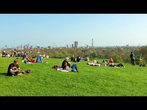 LONDON WALK | Primrose Hill with Panoramic London Skyline Views | England