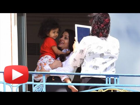 Aishwarya Rai's Play DATE With Baby Aaradhya