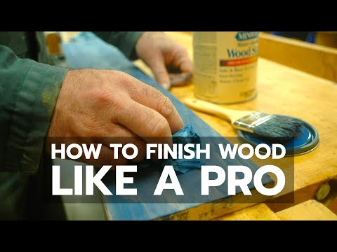 How to Finish Interior Wood Like a Pro