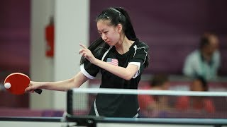 2019 Pan Am Team Trials (Table Tennis) - Day 2 - Table 1
