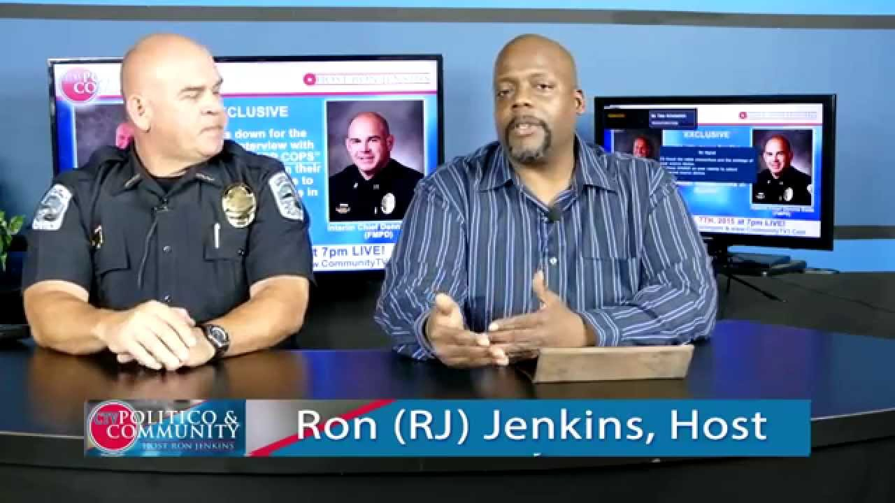(10-7-2015) CTV Politico & Community  Ron Interview Interim Chief Eads