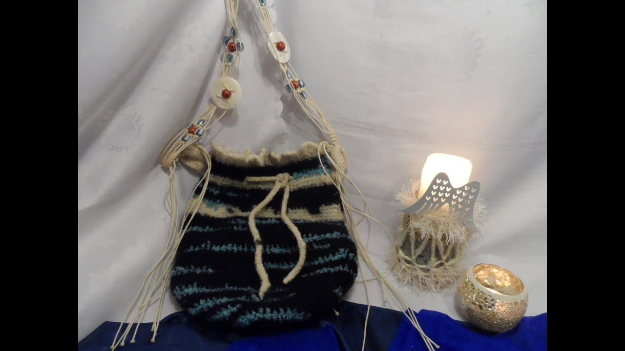 Diy Tolle Tasche Häkeln Filzen Tasche In Normaler Wolle Häkeln