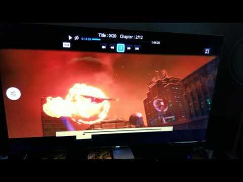 "Batman The Lego Movie 4K Blu-Ray Custom Calibrations on Samsung 4K 65""KS-8000 TV"
