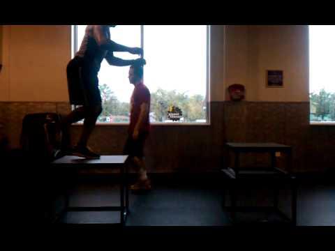 Merizo Personal Training Box Jumps