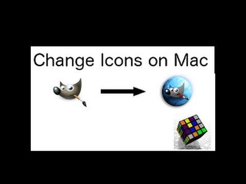 How To Change Icons On A Mac