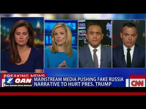 Mainstream Media Pushing Fake Russia Narrative to Hurt Pres. Trump