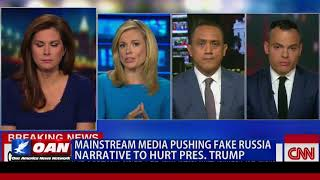Mainstream Media Pushing Fake Russia Narrative to Hurt Pres. Trump