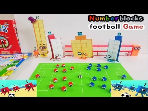 Numberblocks 22 New Episode - Numberblocks 11 Football Game Blue & Red │making Numberblocks│
