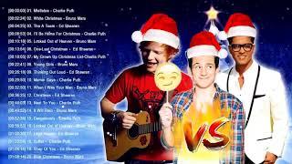 Charlie Puth,Ed Sheeran,Bruno Mars,Best Christmas Songs,Greatest Hits Pop Playlist Christmas 2019