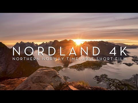 NORDLAND 4K | NORTHERN NORWAY TIMELAPSE