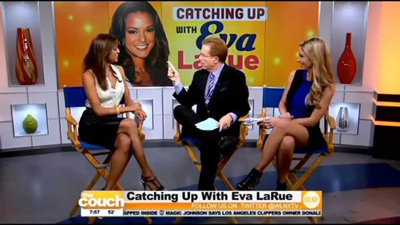 Actress Eva LaRue Stops By The Couch - YouTube