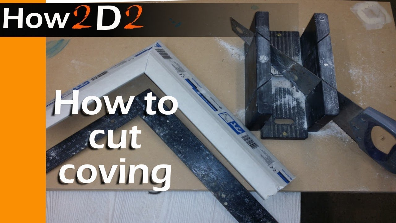 How to cut coving gypro cove internal external corner for Coving corner template