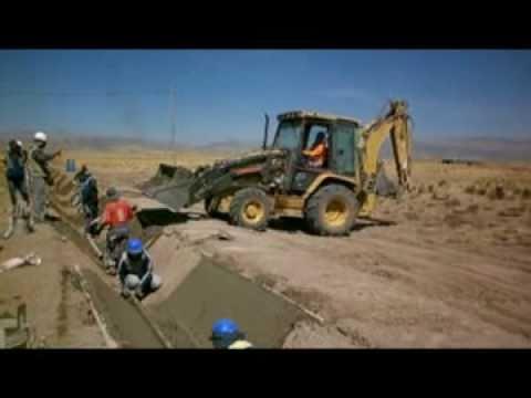 Construcción de Canal LC - Cabana