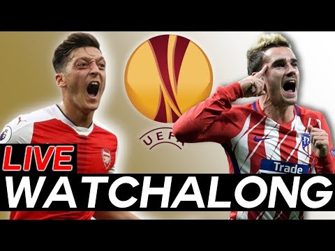 🔴arsenal vs atletico madrid live watchalong stream - europa league semi-finals leg 1