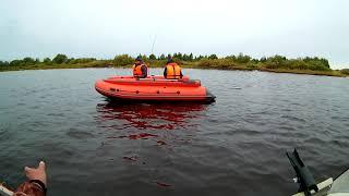 Неудавшаяся рыбалка на реке Шелонь 15 сентября.