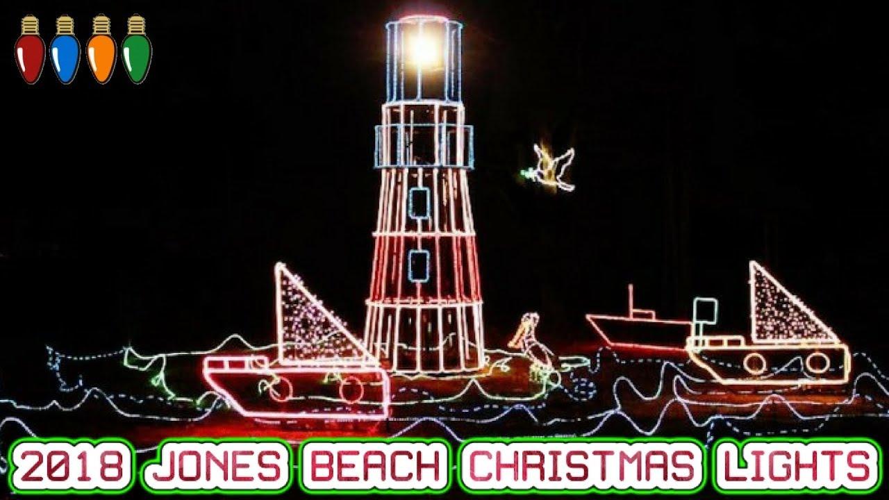 LIVE EVENTS: 2018 JONES BEACH CHRISTMAS LIGHTS - YouTube