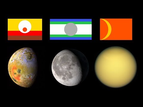 Designing Flags for Moons of the Solar System!