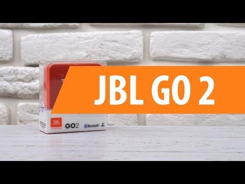Распаковка портативной колонки JBL GO 2 / Unboxing JBL GO 2