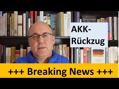 BREAKING NEWS - AKK kündigt Rückzug an: Parteivorsitz & Kanzlerkandidatur