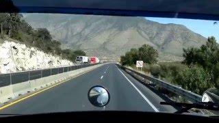 """Bajando """"El Puerto de Flores"""" y """"La Carbonera"""" (""""Los Chorros"""") Uso del freno de motor"""