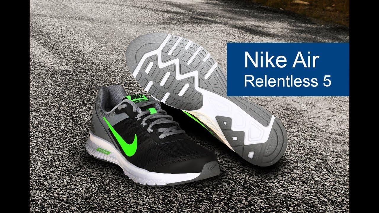 Nike Air Relentless 5 обзор