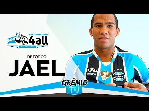 Jael assina contrato e manda recado para torcida gremista l GrêmioTV