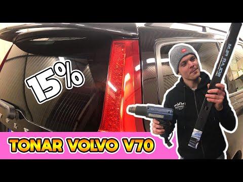 SÅ MONTERAR MAN SOLFILM - VOLVO V70 - STYLING