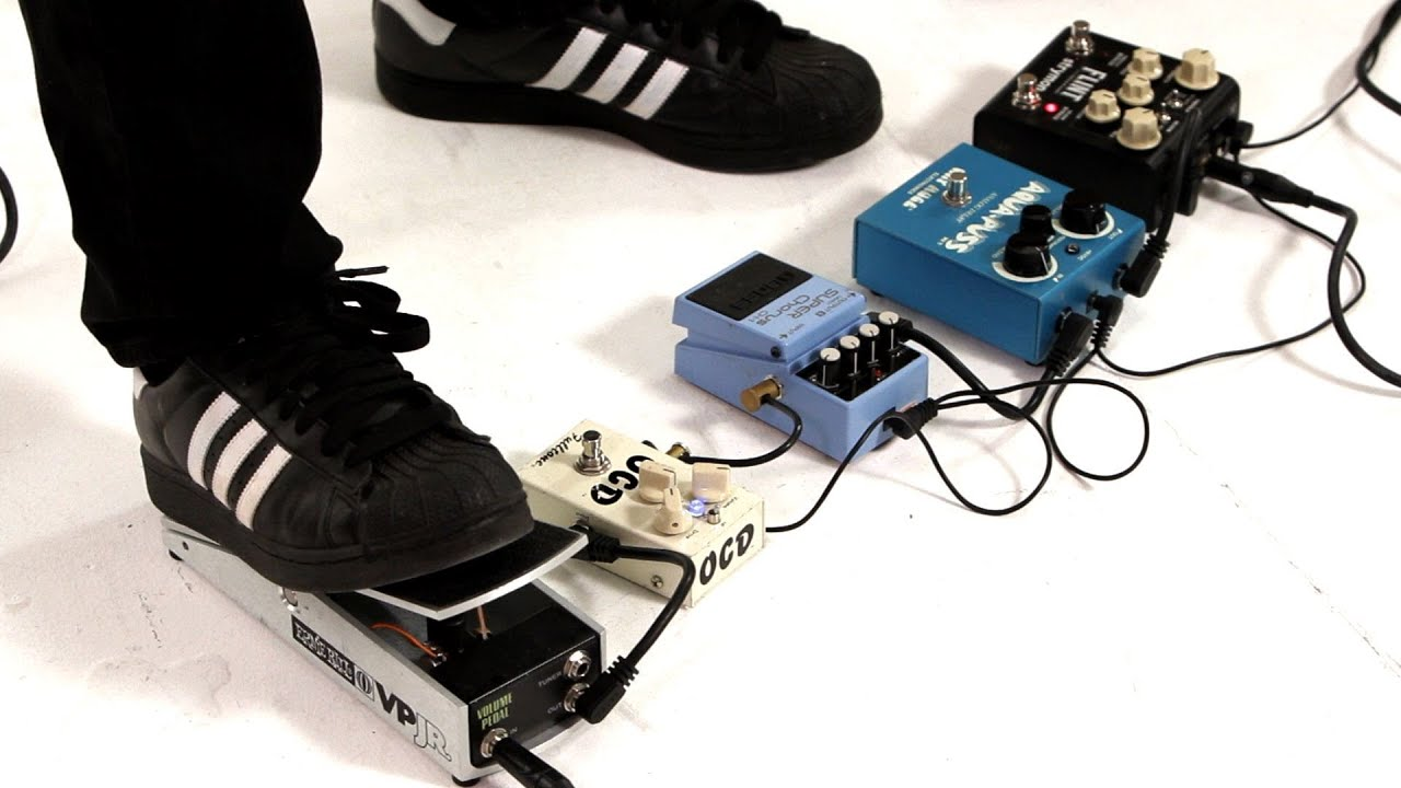 How to Understand Guitar Pedal Order | Guitar Pedals - YouTube